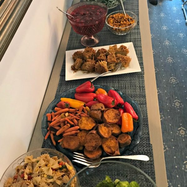Food Highlights: Cake For Lunch & Rosh Hashanah