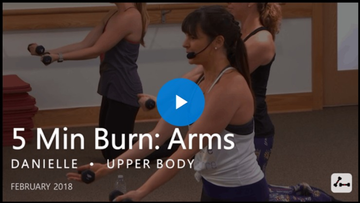 pure barre 5 min arms