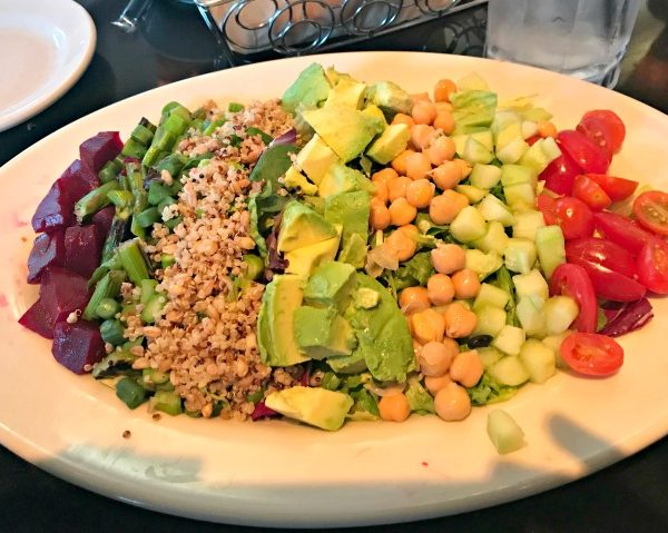 Recent Meals + Vegan Cobb Salad + Intuitive Eating