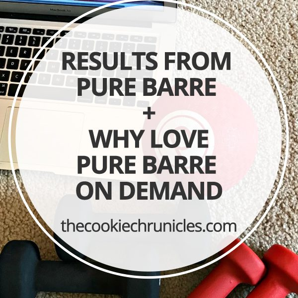 Results From Pure Barre + Why Love Pure Barre On Demand