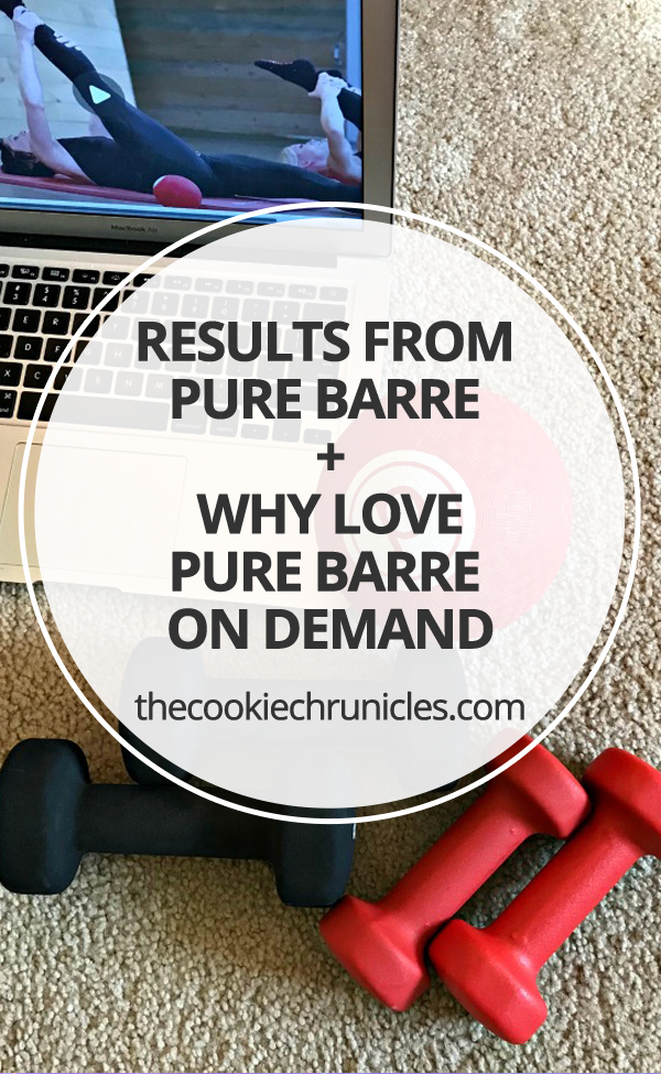 results from pure barre