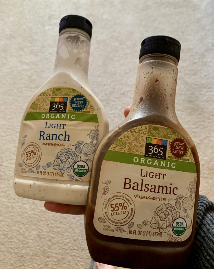 Whole Foods 365 dressing