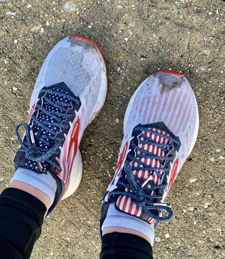 brooks launch old glory
