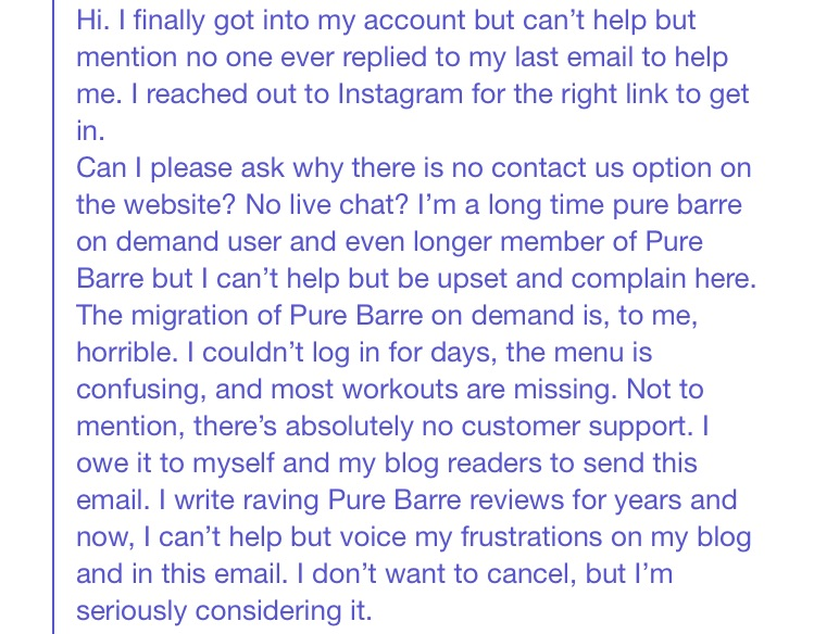 pure barre email