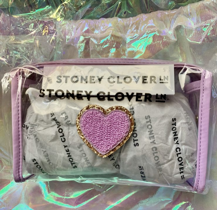 stoney clover clear travel pouch
