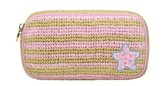 Stoney Clover woven pouch