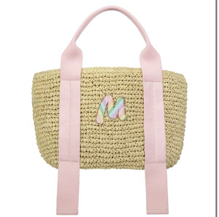 Stoney Clover woven tote