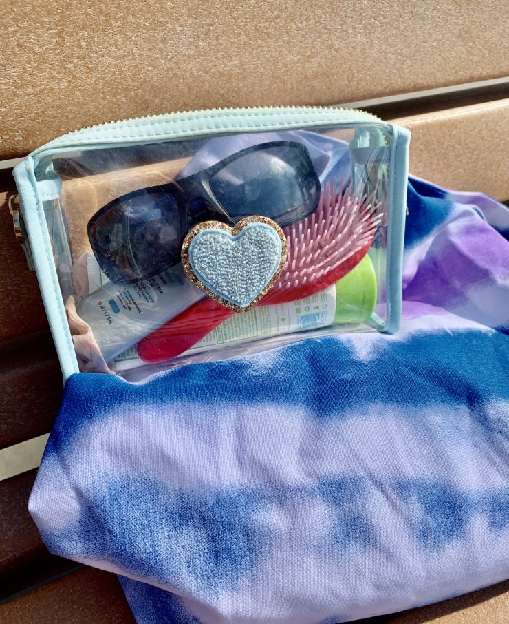 stoney clover clear pouch