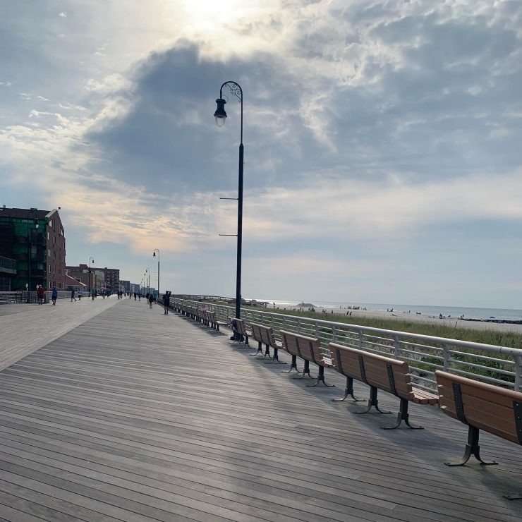 Long Beach boardwalk run