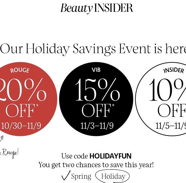 Sephora Holiday Savings Event + Stoney Clover Cozy Collection!