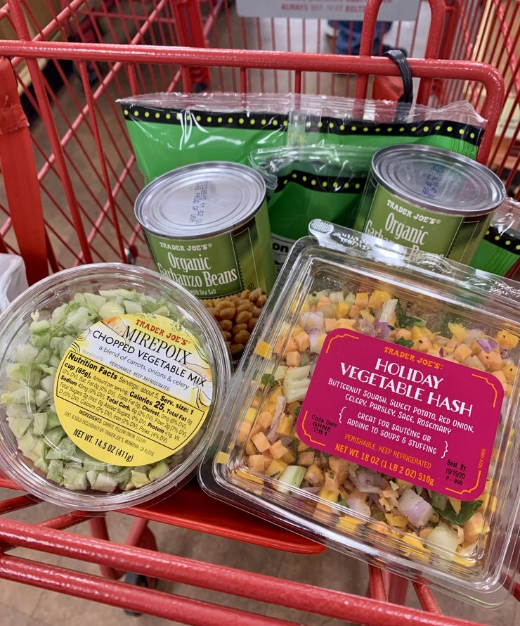 trader joes holiday vegetable hash