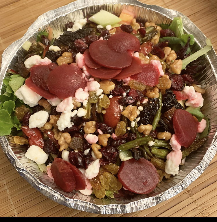 hot cold salad from Mother Kelly's